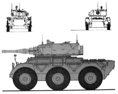 Saladin Mk.II Armoured Car ]
