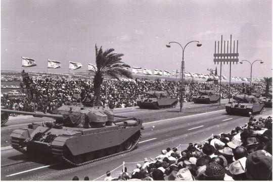 Shot parade israel 1965