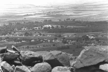 Siria - Kibbutz altos del golan
