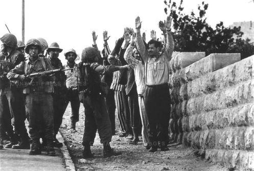 Six-Day War, Jerusalem, Israel, June 1967.