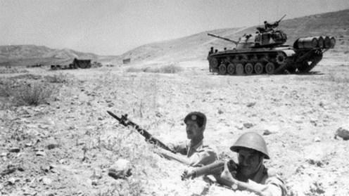 Soldados jordanos -guerra de los seis Dias 1967