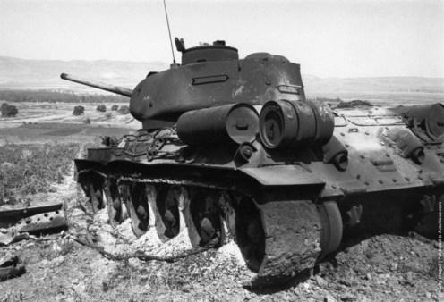 Syrian (Soviet T3485) tank