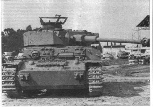 SyrianPzIV six days war 1967
