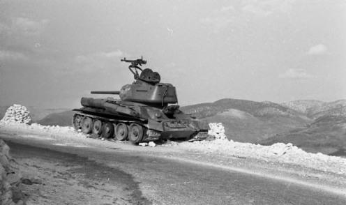 T-34-85 SIRIO ALTOS DEL GOLAN