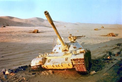 T-55 Destroyed Sinai