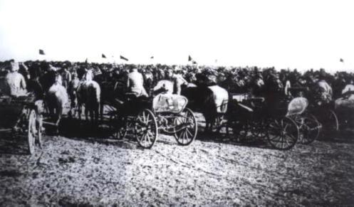 tachankas utilizdas por el ejército negro de Makhno