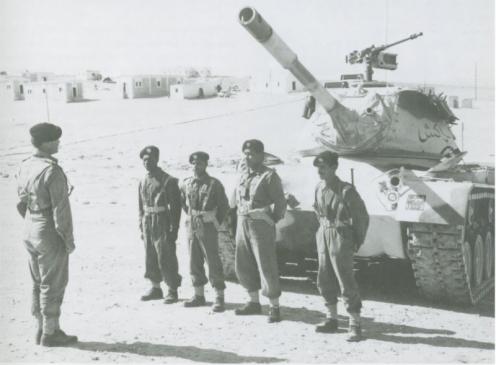 Tanque M-47 PATTON de jordania