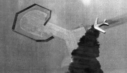 Tu 16 Badger from Egypt destroyed in Cairo West Air Base during the War in 1967.