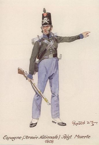 05. Regiment of Death, 1 Private, 1808 g