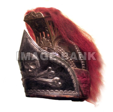 17th Light Dragoons Officer helmet copy