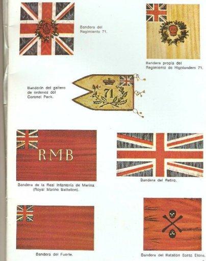 banderas britanicas -invasiones inglesas