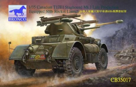Canadian T17E1 Staghound Mk1