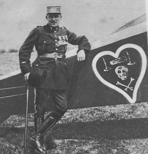 Charles Nungesser 1916