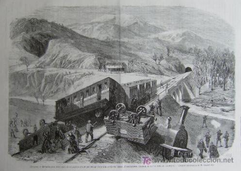 Descarrilamiento de un tren de viajeros -icazteguieta