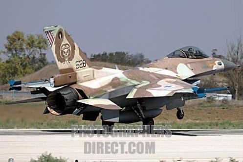 IAF F-16C Jet Fighter