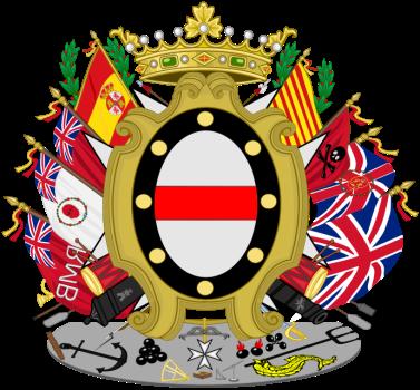 Escudo de Santiago de Liniers, Conde de Buenos Naires, virrey del Río de la Plata