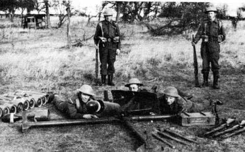 mortero britanico espiga