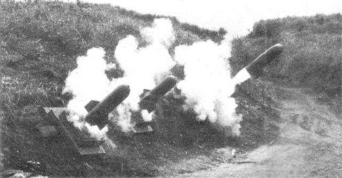 morteros Type 98 en acción
