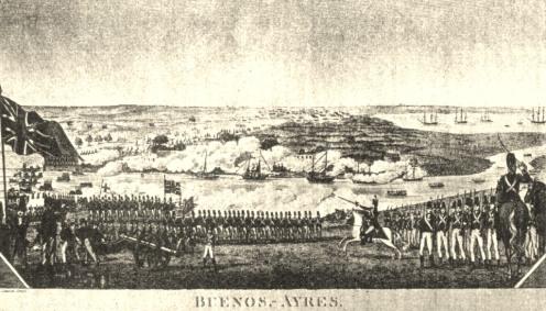 Tropas británicas en Buenos Aires