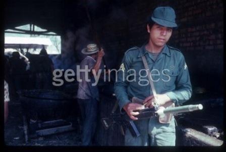 salvador soldier grenade