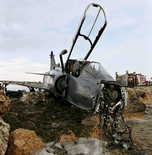 Kfir accidentado