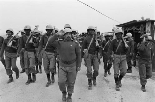 75-Sudanesevolunteersoldiersmarchin