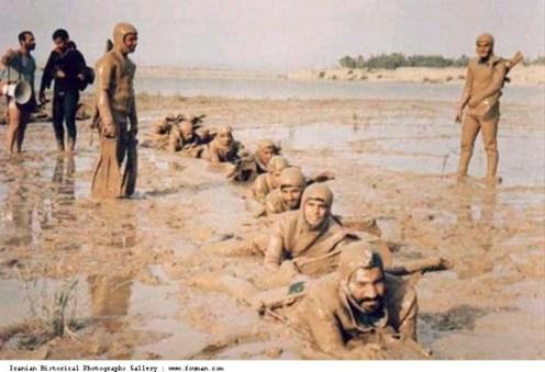 Iran_Iraq_War_Training_Soldiers