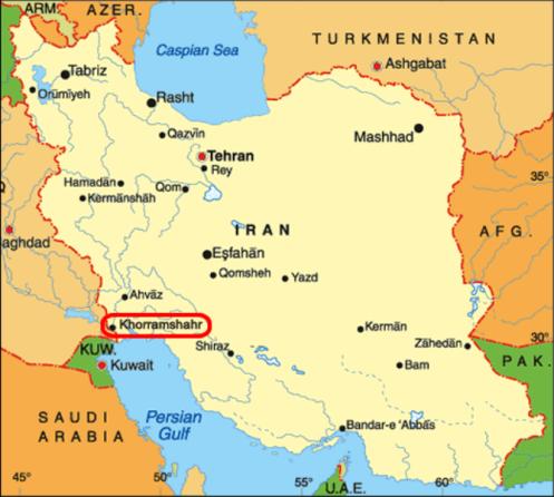 iranmapkhorramshahrlarge