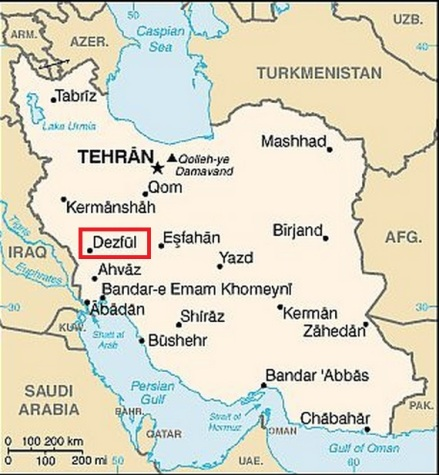 irán mape