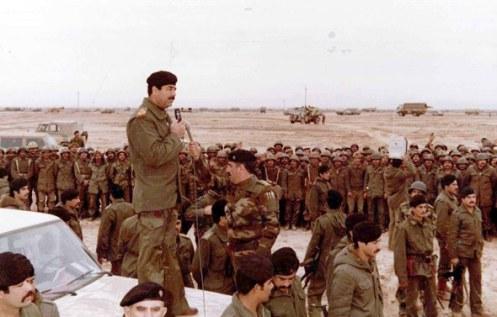 Sadam en Temmuz 1983