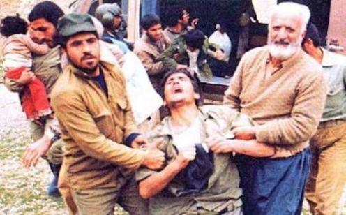 Sardasht-victimas del gas venenoso