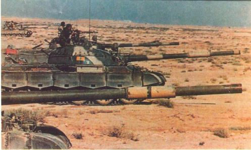 tanques iraquies 1980.