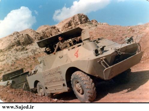 9P133 tank destroyer