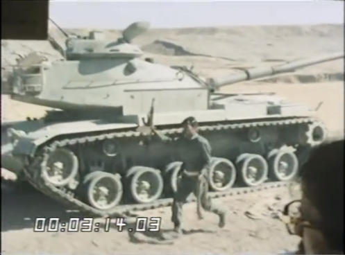 aptured Iranian M60A1 tanks by Iraqis