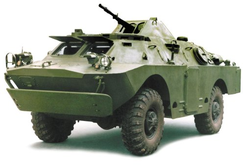 BRDM-2 Armoured Reconnaissance Vehicle