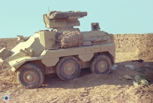 Captured Iraqi Panhard VCR