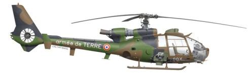 France, SA.341F Gazelle
