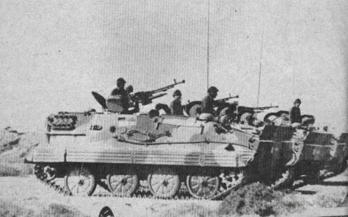 frentes de los años ochenta,, y aparecen en la imagen de los chinos blindado de transporte de personal de tipo (t 63)