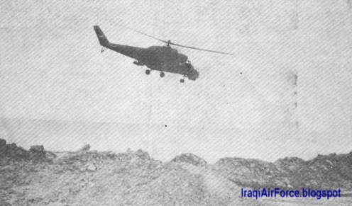 iran irak war mi-24