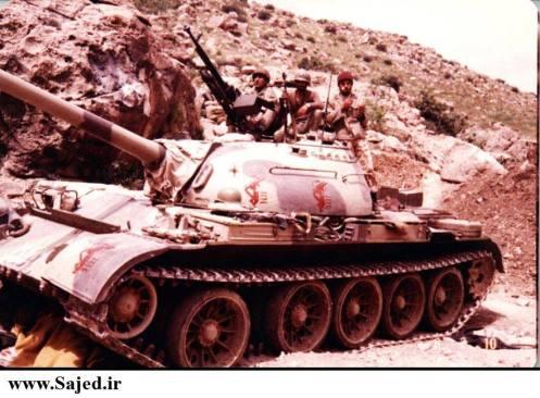 -Iraqi Army Tank captured