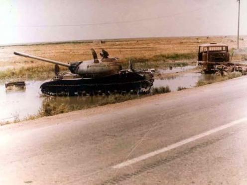 Iraqi T-54-55A