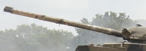 L11A5 120 mm rifled gun