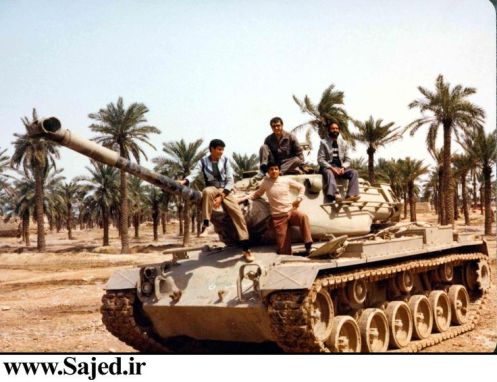 M-47M Patton Iran-Iraq War.