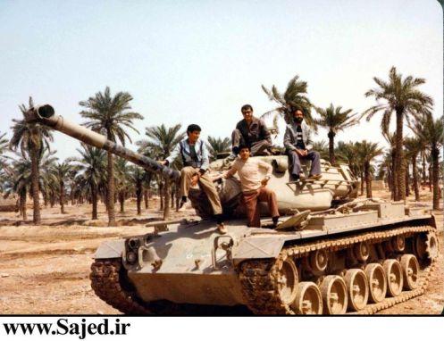 M-47M Patton Iran-Iraq War.