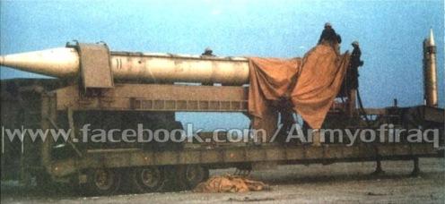 misil Al Hussein en Irak