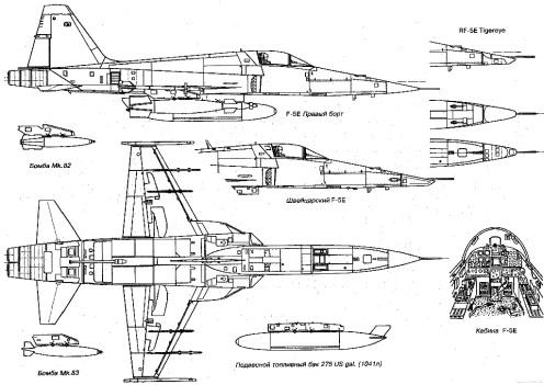 northrop-f-5e-tiger-ii-2d
