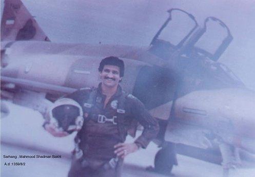 piloto iraní--guerra irán-irak