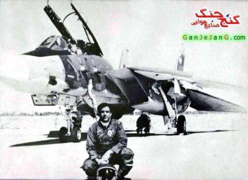 piloto irani F-14 tomcat