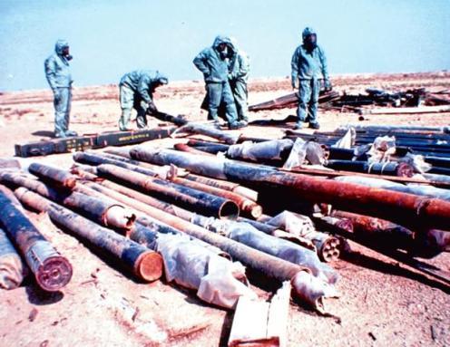cohetes de 122mm carga quimica