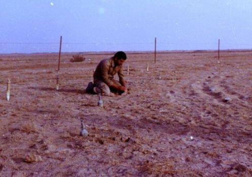 guerra iran-irak (1) minas terrestres